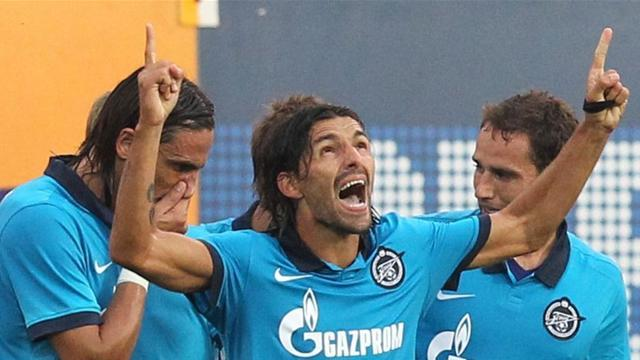 Champions League - Danny double seals Zenit's place