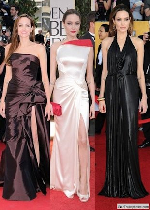 angelina jolie in gowns