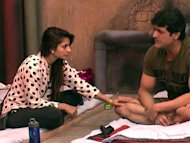 Bigg Boss 7: Armaan Kohli and Tanisha Mukherjee Get Cosy