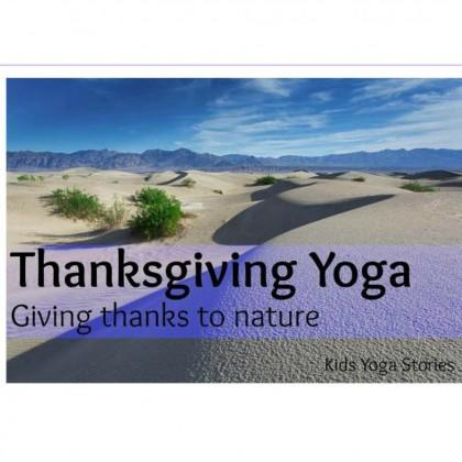 Toddler Thankgiving Yoga Sequence Activity