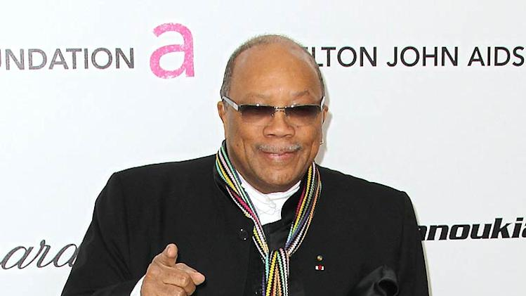 Quincy Jones EJ Oscar Prty