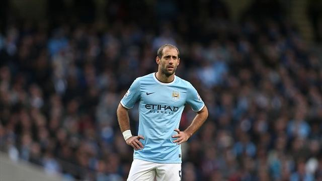 Premier League - Zabaleta out for two weeks