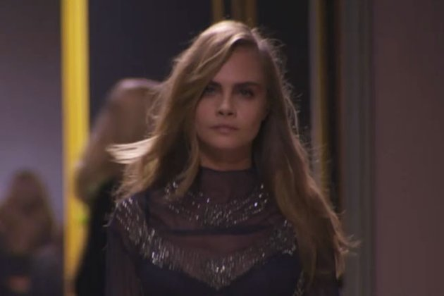 We Talk To Cara Delevingne At H&M's First Ever Catwalk Show During Paris Fashion Week: EXCLUSIVE