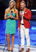 Charissa Thompson, Joey Lawrence | Photo Credits: Kelsey McNeal/ABC