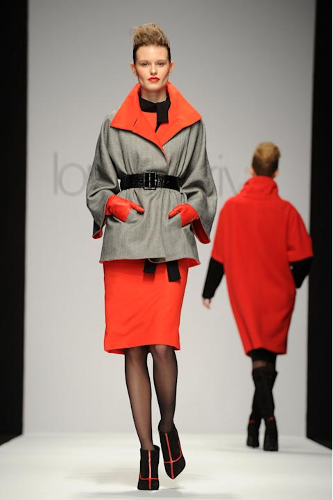 Lorenzo Riva: Runway - Milan Fashion Week Womenswear Autumn/Winter 2012/2013