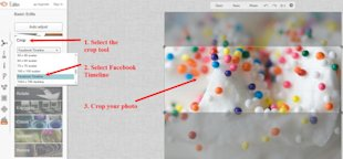 How to Make Images the Right Size for Your Facebook Cover Photo and Profile Photo image PicMonkey Facebook Cover Photo 600x278