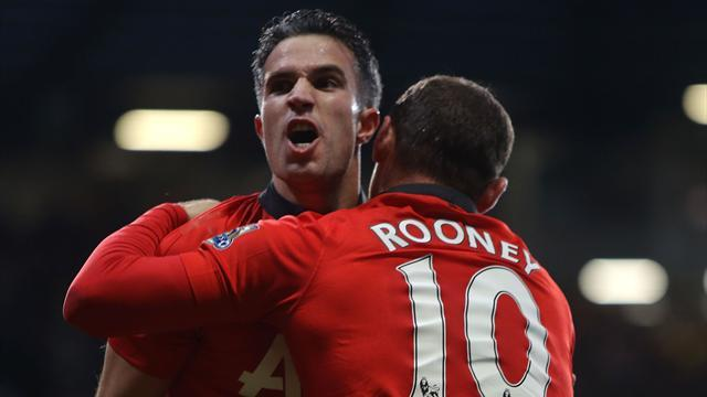 League Cup - Moyes waiting on van Persie, Rooney fitness