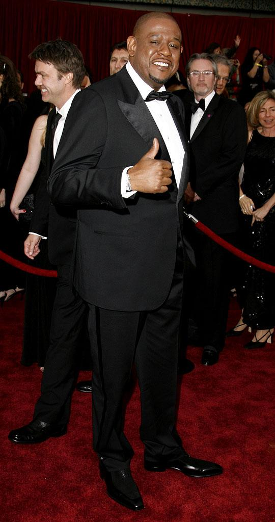 "Forest Whitaker, nominee Best Actor in a Leading Role for ""The Last King of Scotland"" at The 79th Annual Academy Awards."