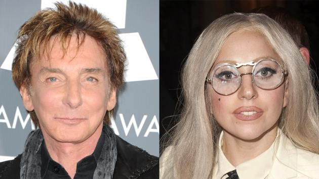 Barry Manilow, Lady Gaga -- Getty Images