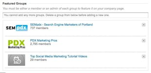 Adding a Linkedin Group to Your Company Page image adding linkedin group to company