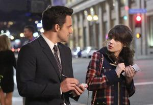 Jake Johnson, Zooey Deschanel | Photo Credits: Adam Taylor/FOX