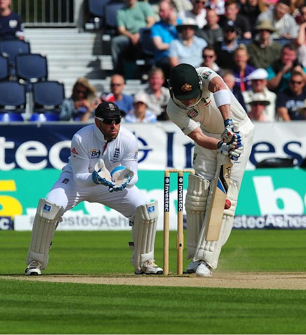 Cricket - Fourth Investec Ashes Test - Day Three - England v Australia - Emirates Durham ICG