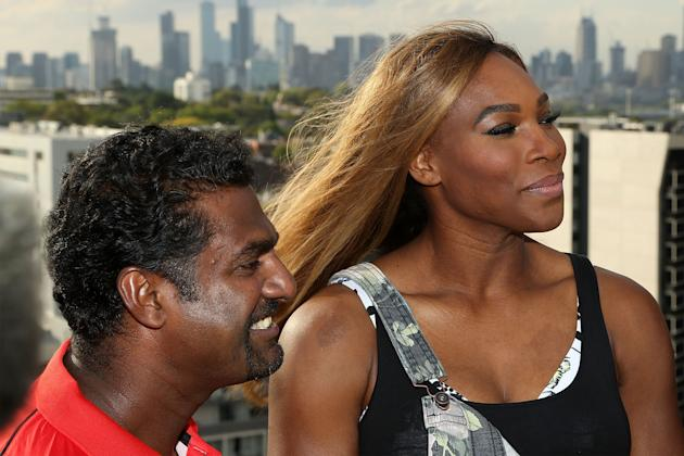 Serena & Venus Williams Meet With Melbourne Renegades
