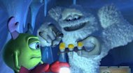 Yeti offers Mike a tasty snack in 'Monsters, Inc.'.