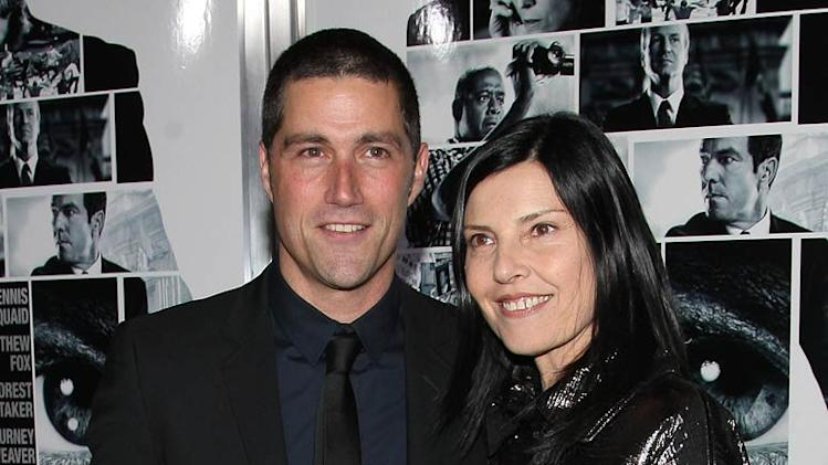 "Matthew Fox and Margherita Ronchi at the New York City premiere of ""Vantage Point"" - February 20, 2008"