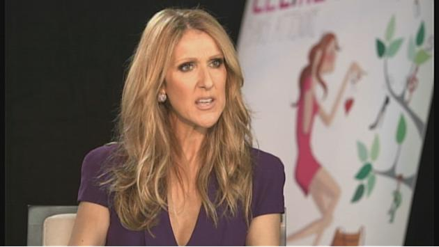 "Celine Dion there to ""show support"""