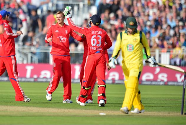 Cricket - Second NatWest International T20 - England v Australia - Emirates Durham ICG