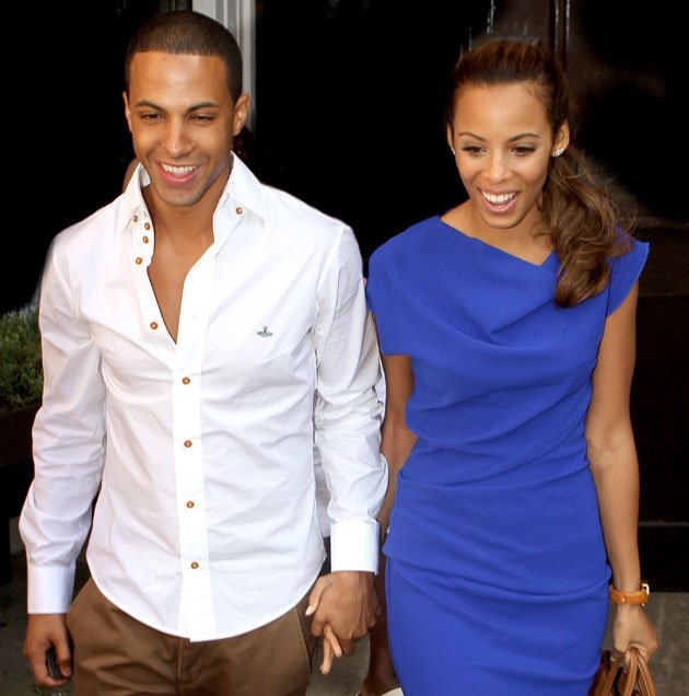 Rochelle and Marvin Humes