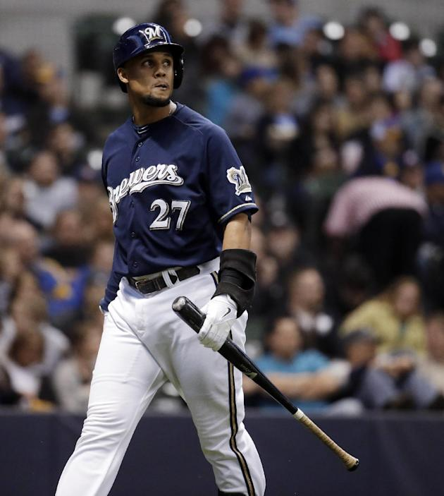 Gomez helps spark aggressive Brewers' hot start