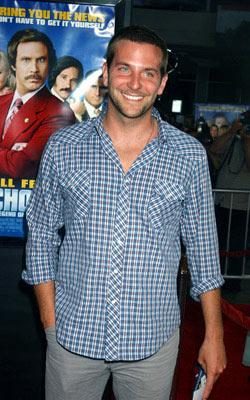Premiere: Bradley Cooper at the Hollywood premiere of Dreamworks' Anchorman - 6/28/2004