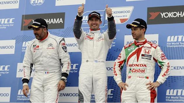 WTCC - Muller and Lopez claim wins in France