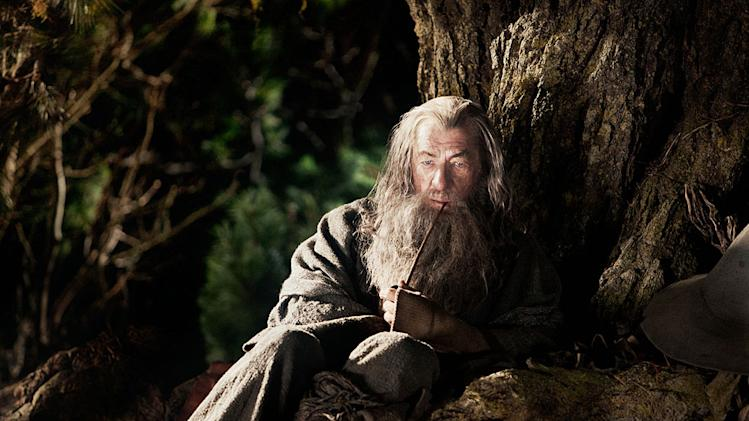 The Hobbit An Unexpected Journey New Line Cinema 2012 Ian McKellen