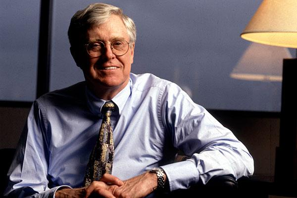 5. Charles G. Koch, 76 Company: Koch Industries  Net worth: $24.7 billion  Compensation: N/A   Charles G. Koch has been the chairman and CEO of Koch Industries — one of the largest privately owned com