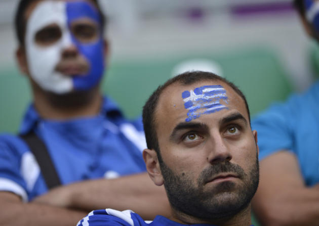 Greek Fans AFP/Getty Images