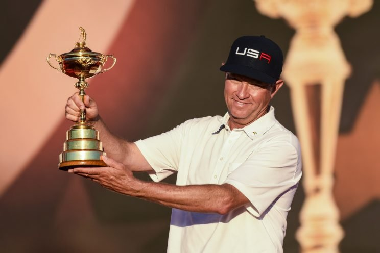 Davis Love III will enter the World Golf Hall of Fame. (Getty Images)