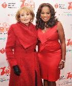 Barbara Walters and Star Jones attend the American Heart Association's 2012 New York City Go Red for Women luncheon at the Hilton New York on February 28, 2012 -- Getty Images