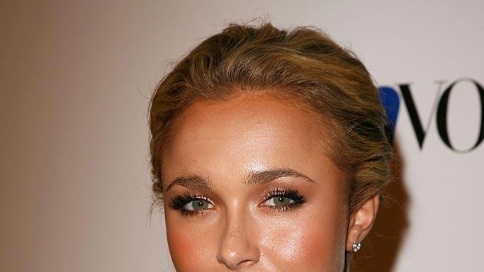 Hayden Panettiere arrives at the Teen Vogue Young Hollywood Party at Vibiana.