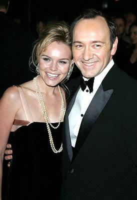 Kate Bosworth and Kevin Spacey at the NY premiere of Lions Gate's Beyond the Sea