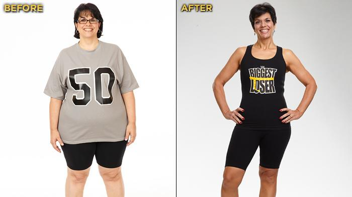 """Biggest Loser"" Season 12's Becky Comet started the competition at 238 lbs. and lost a total of 88 lbs."