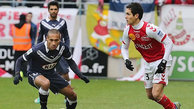 FOOTBALL 2012 Aissa Mandi (Reims) Bordeaux Jussie
