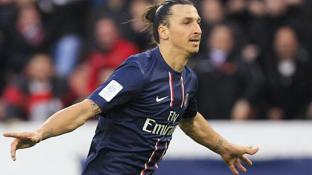 Ligue 1 - Ibrahimovic extends PSG deal until 2016
