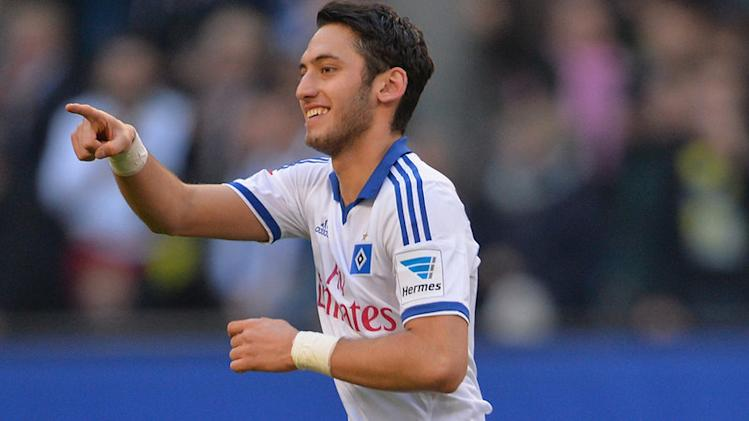 Hakan staying at Hamburg