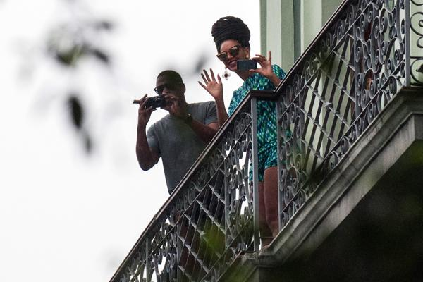Jay-Z and Beyonce Face Questions Over Cuba Vacation