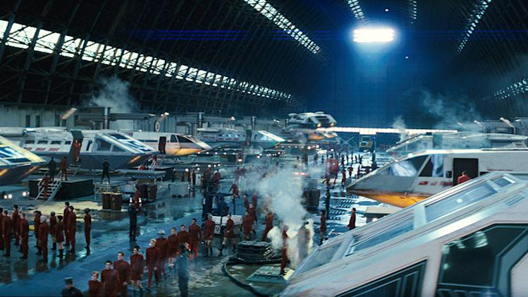 Star Trek Production Photos Paramount Pictures 2009
