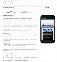 Website Speed – Important for Inbound Marketing image google pagespeed insights mobile 278x300