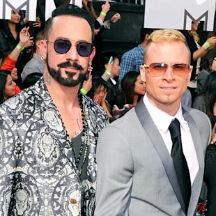 Backstreet Boys Talk Nick Carter's Wedding, Possible Spice Girls Tour at MTV Movie Awards