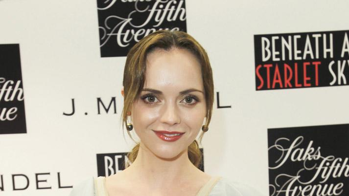 "Christina Ricci attends ""Beneath A Starlet Sky"" Book Signing At Saks Fifth Avenue Beverly Hills on May 6, 2011 in Beverly Hills, California."