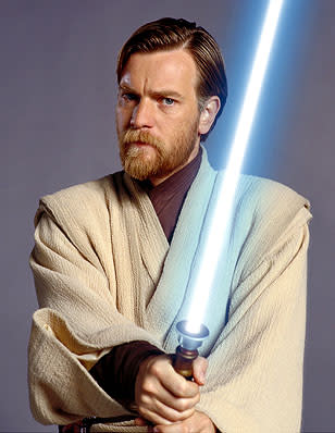 Ewan McGregor as Obi-Wan Kenobi in 20th Century Fox's Star Wars: Episode III