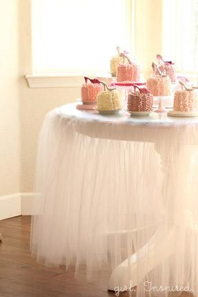 Tulle Tablecloth