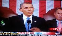 Networks Juggle State Of The Union & Cop Killer Standoff, But No Split Screen Tonight