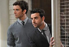 Michael Urie, David Krumholtz | Photo Credits: Darren Michaels/CBS