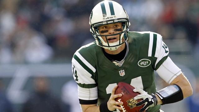 NFL  - McElroy sidelined for Jets