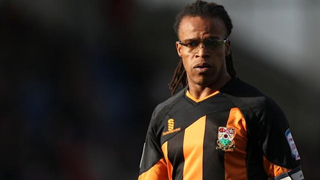 Edgar Davids, pictured, refused to shake hands with Burton Albion boss Gary Rowett