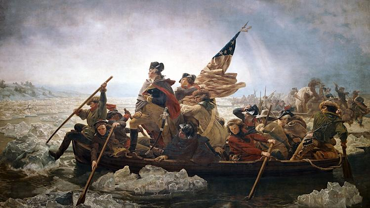 Washington Crossing the Delaware River