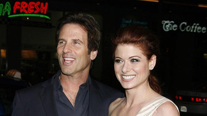Nothing Like the Holidays LA Premiere 2008 Hart Bochner Debra Messing