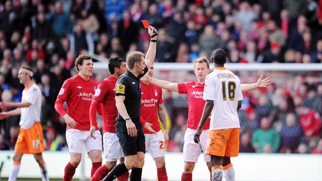 Football - Osbourne loses red card appeal